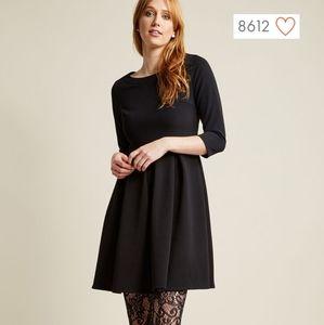 Modcloth A-Line Black Dress